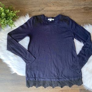 Boden lace sweater